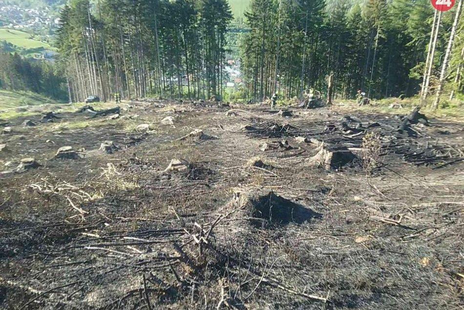 Ilustračný obrázok k článku Smutné ZÁBERY po požiari na Kysuciach: Oheň tu nechal poriadnu spúšť