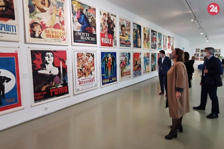 Ilustračný obrázok k článku Ocitnite sa v zlatej ére talianskeho filmu: Žilina láka na výstavu s úžasnou atmosférou