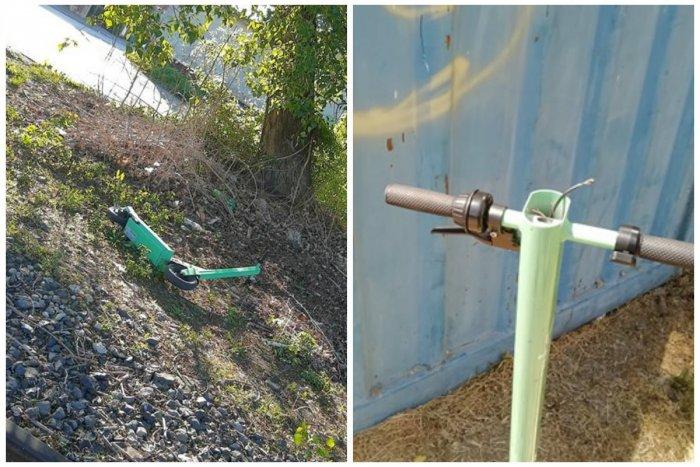 Ilustračný obrázok k článku Pre zlé zaobchádzanie so zelenými kolobežkami sa zmenia pravidlá ich používania