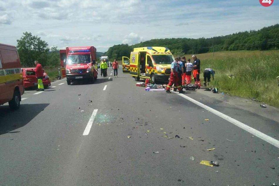 Ilustračný obrázok k článku Tragická nehoda pri Zvolene: Vyhasli dva životy, cesta je uzavretá, FOTO