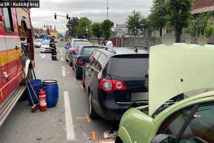 Ilustračný obrázok k článku Reťazová havária v Spišskej: Policajti majú jasno, vinníčka nafúkala vyše 3 promile!