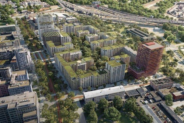 Ilustračný obrázok k článku VIZUALIZÁCIE: Priemyselný areál na Mlynských nivách sa zmení na modernú mestskú štvrť