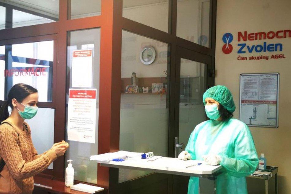 Ilustračný obrázok k článku Chystáte sa do zvolenskej nemocnice? Doterajší režim triedenia pacientov končí