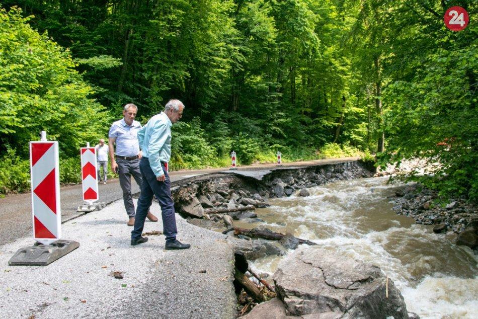 Ilustračný obrázok k článku Lunter po návšteve Revúckeho okresu: Slová župana, keď uvidel tú spúšť, FOTO