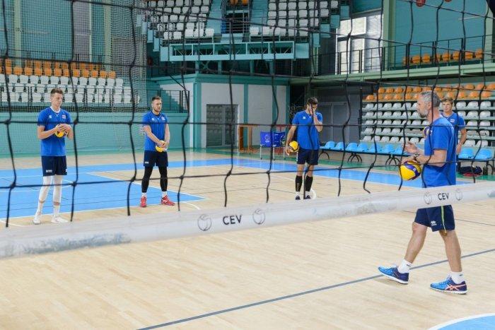 Ilustračný obrázok k článku Volejbalová reprezentácia sa zišla v Nitre: Trénerovi sa hlásilo 12 hráčov, FOTO