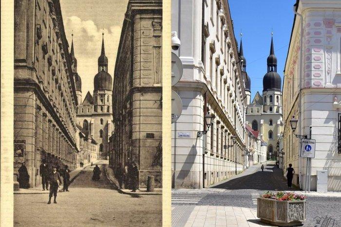 Ilustračný obrázok k článku Úžasné! Rodený Trnavčan nafotil mesto podľa historických fotografií, FOTOSÉRIA
