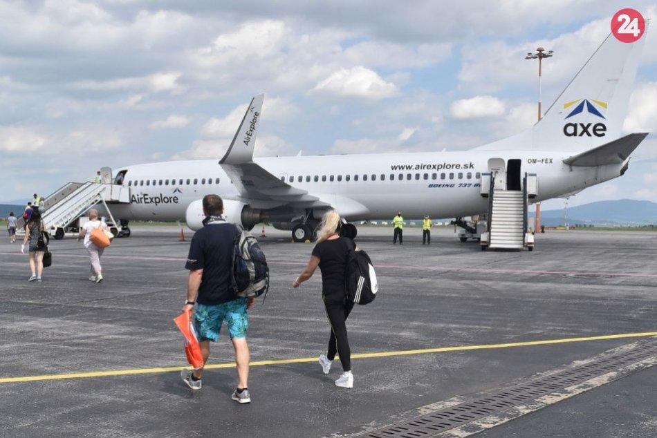 Ilustračný obrázok k článku Dovolenkári tešte sa. Viete do ktorých letných destinácii sa dostanete letecky z Košíc?