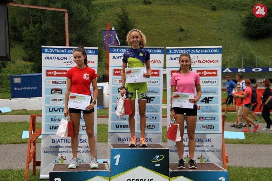 Ilustračný obrázok k článku Revúcki biatlonisti odštartovali letnú sezónu úspešne: Medaily im neušli, FOTO