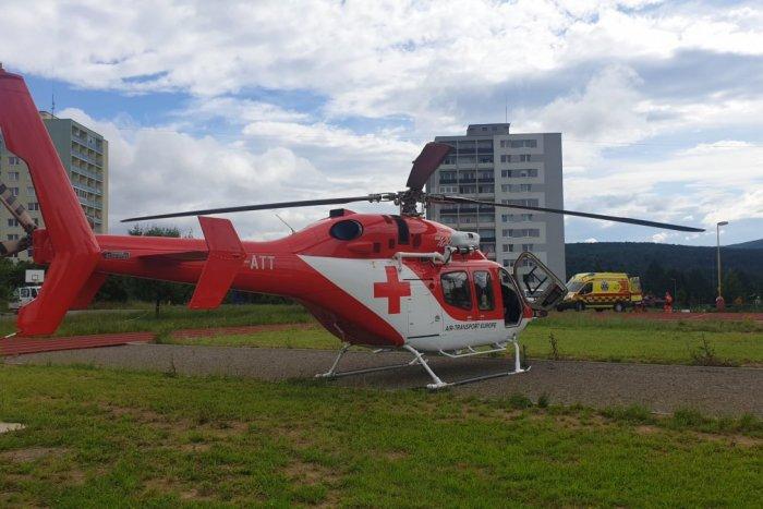 Ilustračný obrázok k článku Nehoda troch áut pri Košiciach: Leteckí záchranári v akcii