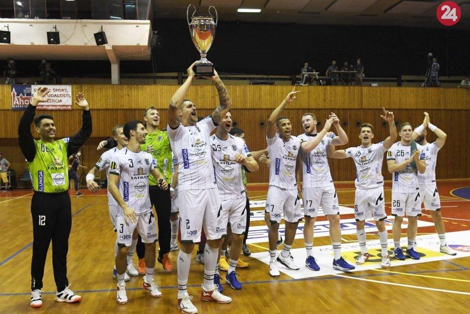 Ilustračný obrázok k článku Suverénne víťazstvo: Tatran si pripísal 22. zisk Slovenského pohára, FOTO