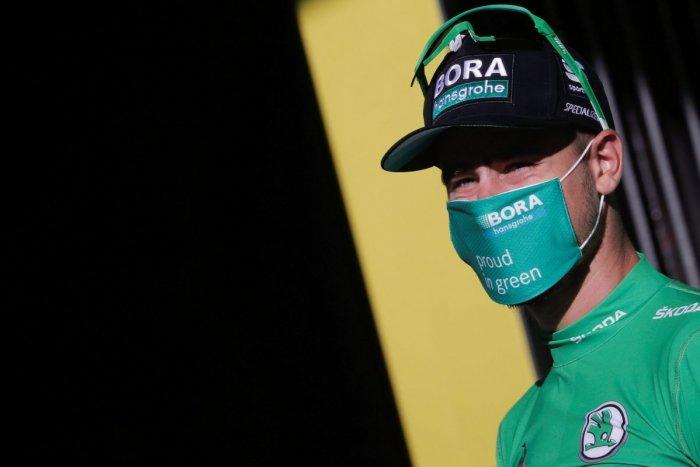 Ilustračný obrázok k článku Sagan si na Tour len o vlások udržal zelený dres: Bolo to len TAK-TAK! FOTO