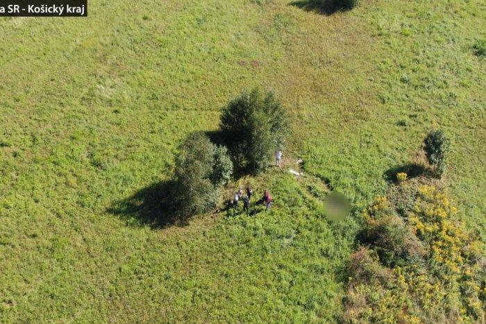 Ilustračný obrázok k článku Telo nezvestnej Košičanky našli pomocou dronu