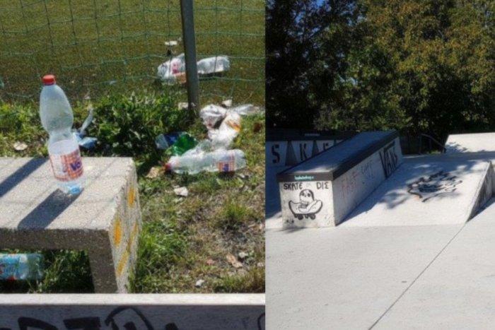 Ilustračný obrázok k článku Skatepark sa zmenil na smetisko: Radnica posilní hliadky mestskej polície, FOTO