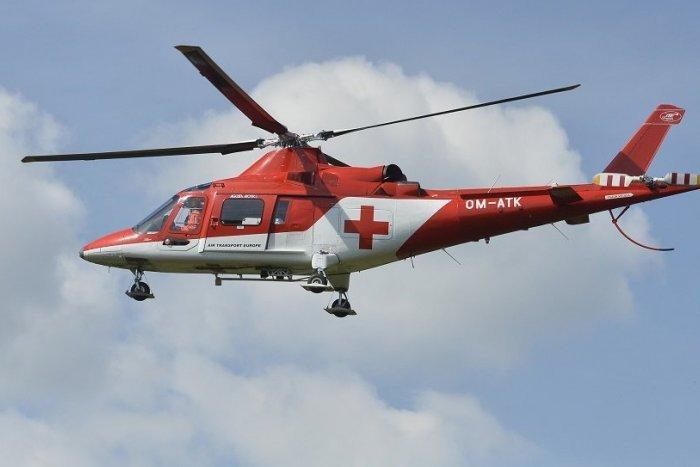 Ilustračný obrázok k článku Čelná zrážka áut, k nehode letel na pomoc záchranársky vrtuľník