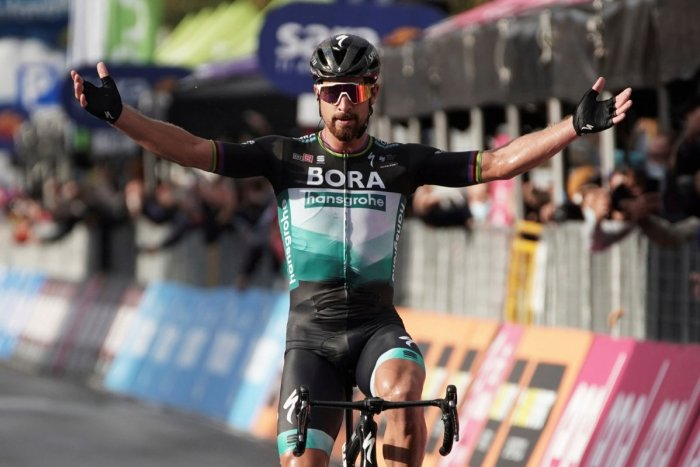 Ilustračný obrázok k článku Že SAGAN patrí do starého železa? Ani náhodou, na Giro predviedol famóznu šou! FOTO