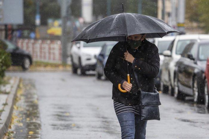 Ilustračný obrázok k článku Bláznivý apríl pokračuje: Dážď, sneženie a ochladenie až o 15 °C!