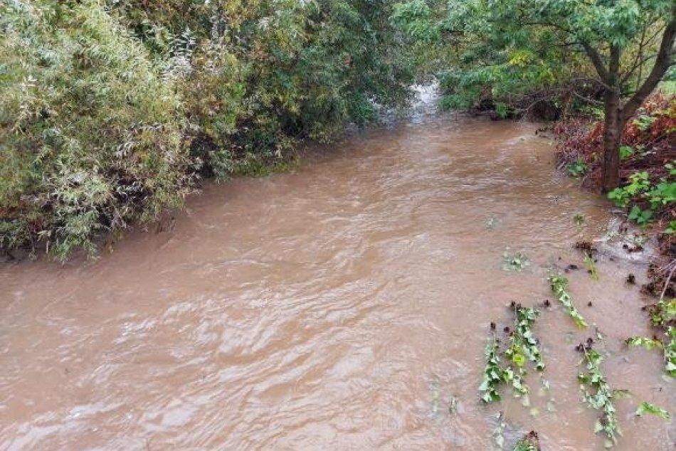 Ilustračný obrázok k článku AKTUALIZOVANÉ výstrahy pred povodňami: Pre okres Zlaté Moravce platí 1. stupeň