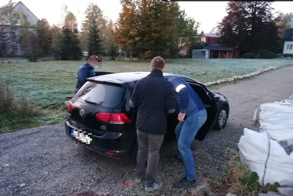 Ilustračný obrázok k článku Zásah NAKA v Poprade: V akcii ZEMEPÁN zadržali štyroch ľudí!