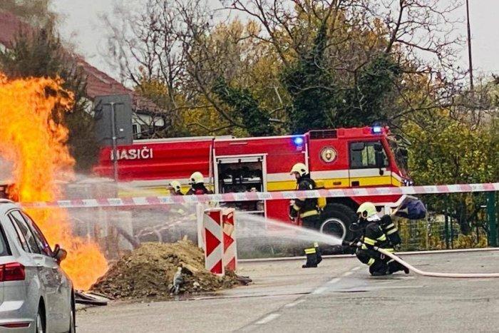 Ilustračný obrázok k článku Dráma vo Vajnoroch: Na ulici šľahali do výšky plamene. Na príčine bol PLYN!