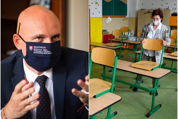 Ilustračný obrázok k článku Vrátia sa deti do škôl 11. januára? Minister školstva hovorí, či je to reálne