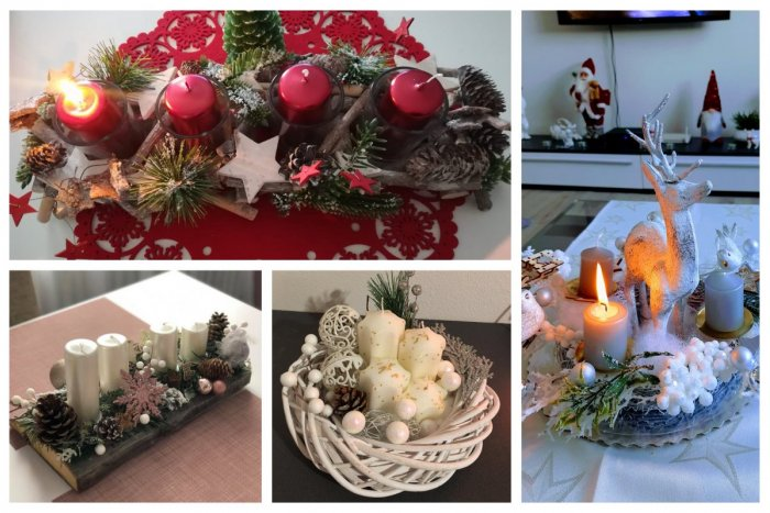 Ilustračný obrázok k článku Prvá vôňa Vianoc: Adventné vence z Popradu vo veľkej GALÉRII
