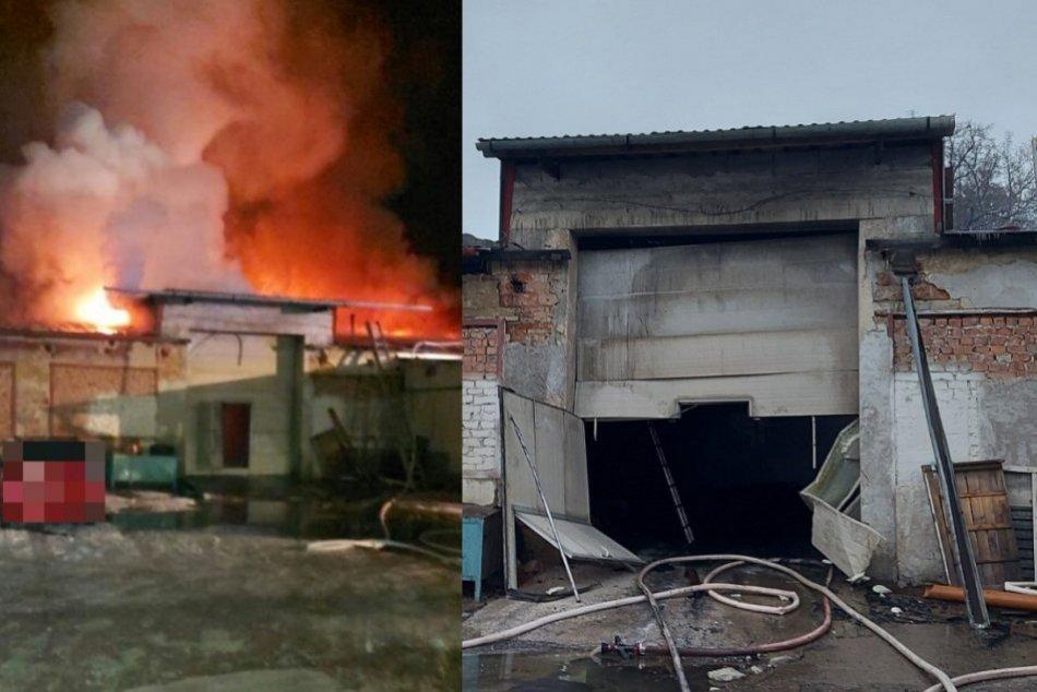 Ilustračný obrázok k článku Plamene zachvátili výrobnú halu: V akcii boli hasiči z viacerých miest, FOTO