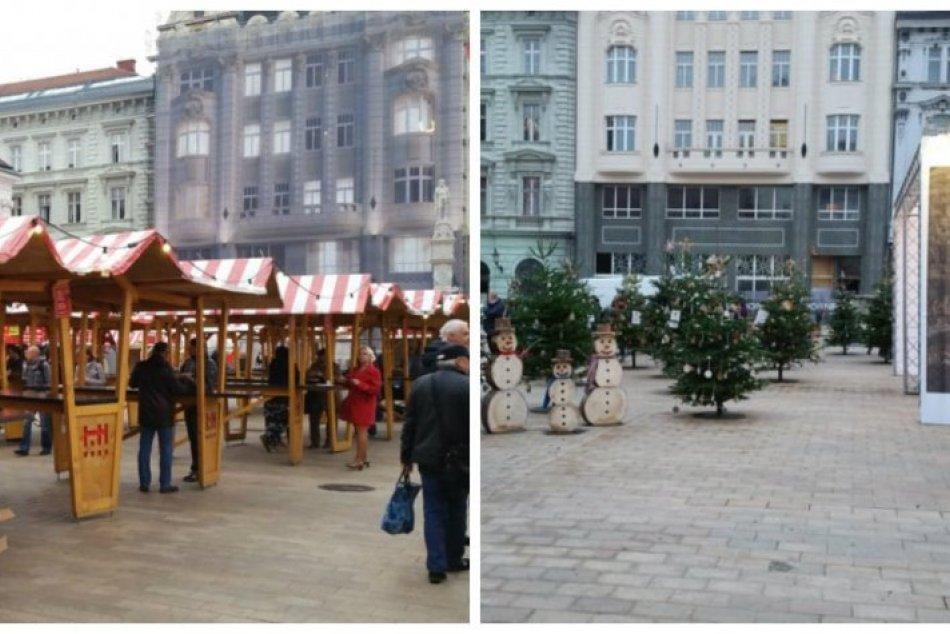 Ilustračný obrázok k článku Aká bola Bratislava pred rokom? Pozrite si fotografie vianočného mesta pred koronou a teraz