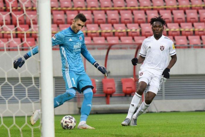 Ilustračný obrázok k článku Brankár Slovana po vyhratom derby s Trnavou: Spartak je môj najobľúbenejší súper!