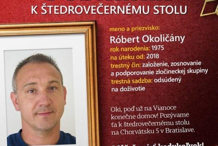 Ilustračný obrázok k článku Skvelá kampaň polície: Oki, poď na Vianoce domov! Vyzýva hľadaného mafiána