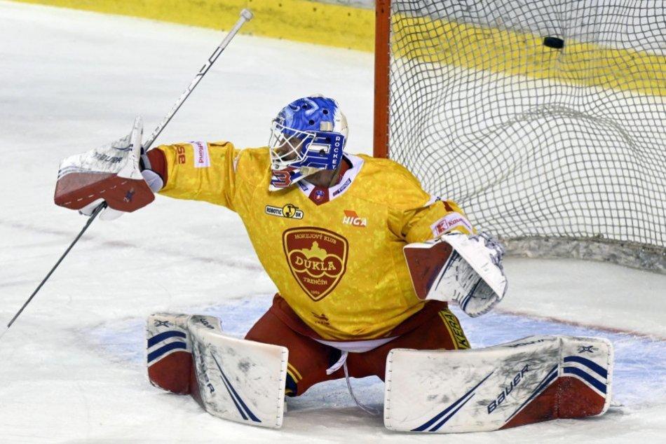 Ilustračný obrázok k článku LaCouvee z Trenčína zamieril do organizácie klubu NHL: Dukla predstavila náhradu