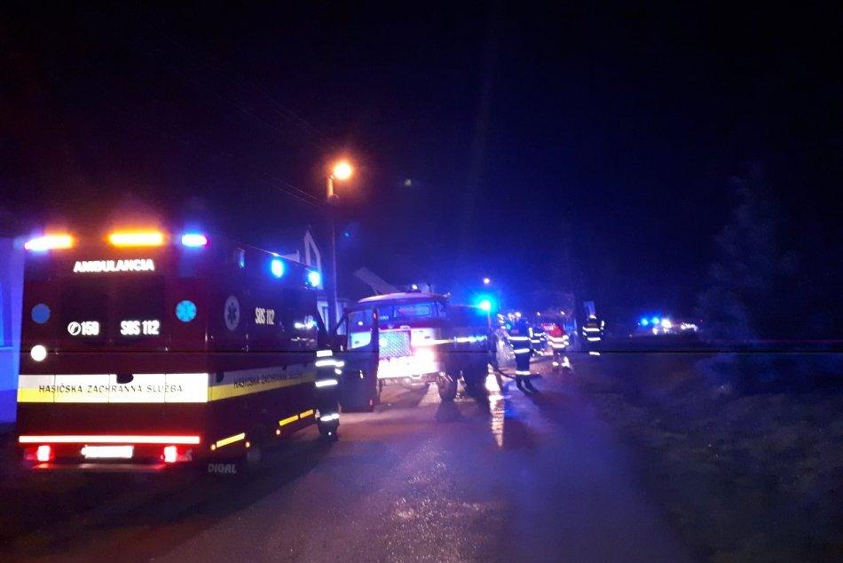 Ilustračný obrázok k článku Požiar budovy vo Vranove nad Topľou. Je za tým zábavná pyrotechnika?