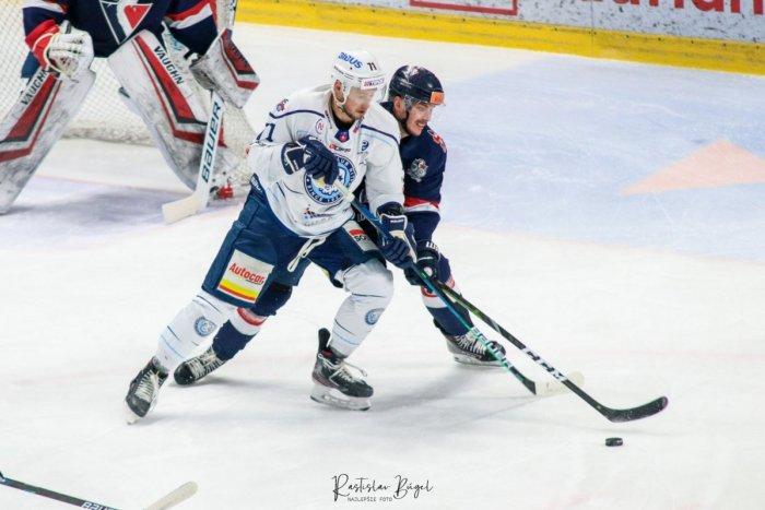 Ilustračný obrázok k článku Hokejisti Nitry nestačili na Slovan: Jediný gól domácich strelil Žitný