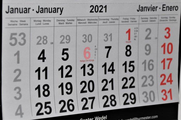 Ilustračný obrázok k článku V roku 2021 máme o jeden sviatok viac. Kedy sa dočkáme voľných dní?
