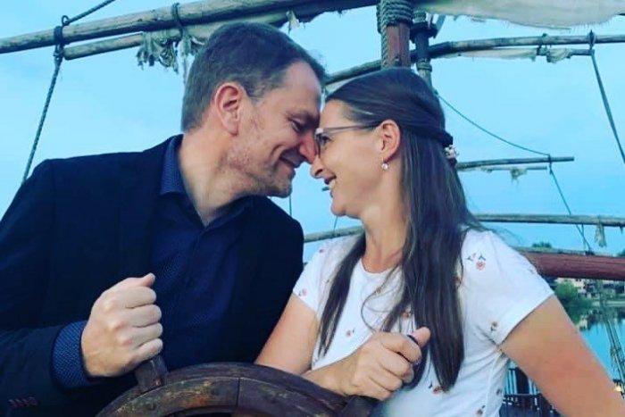 Matovič s manželkou