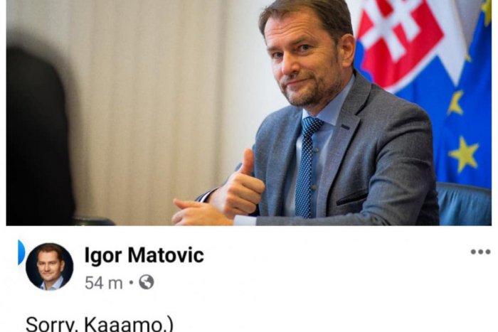 Ilustračný obrázok k článku Mladík viní Matoviča, že sa mu rozpadol vzťah: Reakcia premiéra vás DOSTANE!
