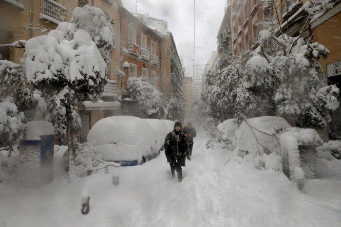 Ilustračný obrázok k článku Španielsko ochromila snehová kalamita! Hlásia až -34 stupňov, ale aj obete na životoch, FOTO