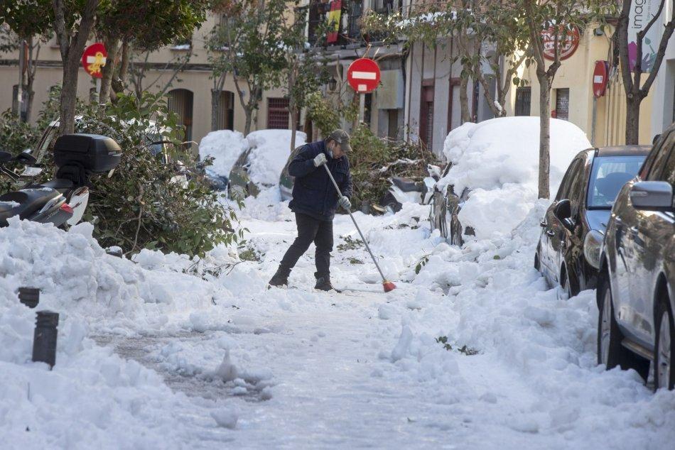 Ilustračný obrázok k článku Španielsko bojuje s extrémnymi mrazmi: V Madride padol 50-ročný rekord!