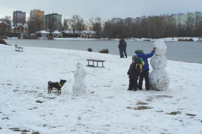 Ilustračný obrázok k článku FOTO: Snehuliaci ovládli Bratislavu. Podarilo sa vytvoriť bieleho fešáka aj vám?