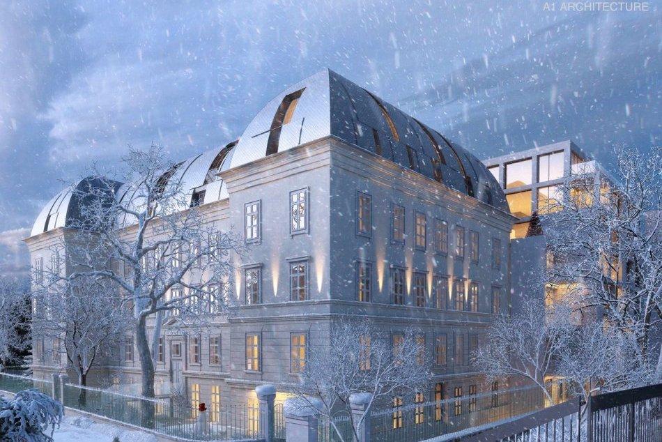 Ilustračný obrázok k článku Ďalšia luxusná rezidencia na obzore: Zmení sa na ňu chátrajúca nemocnica na Zochovej