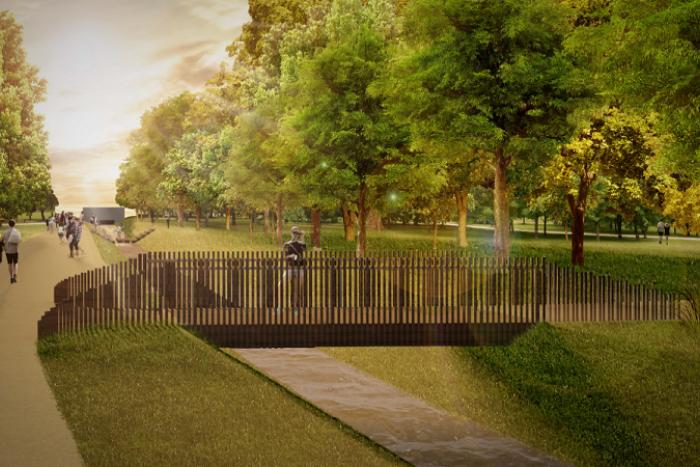 Ilustračný obrázok k článku Park Vlada Clementisa: Po obnove ponúkne amfiteáter aj toalety pre psy + VIZUALIZÁCIE