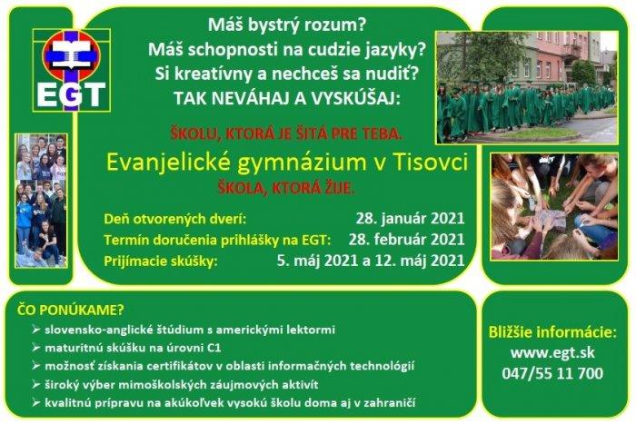 Ilustračný obrázok k článku Deň otvorených dverí na Bilingválnom gymnáziu vTisovci: Čo všetko sa dozviete?