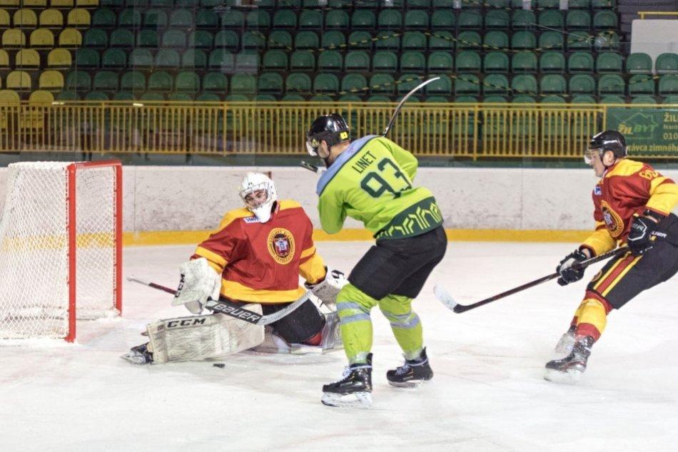Ilustračný obrázok k článku Prehra na ľade lídra: Jeden gól na Žilinu nestačil, FOTO