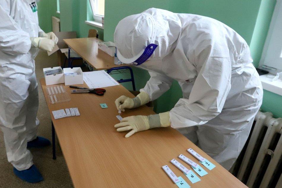 Ilustračný obrázok k článku V Handlovej pribudlo tretie mobilné odberové miesto na antigénové testovanie