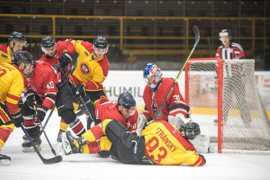 Ilustračný obrázok k článku Hokejisti pri chuti: Trnave nastrieľali sedem gólov, FOTO