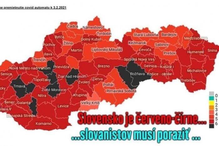 Ilustračný obrázok k článku ZÁBAVA na úkor športových fanúšikov Slovana: Trnavčania hlásia, že Slovensko je červeno-čierne!