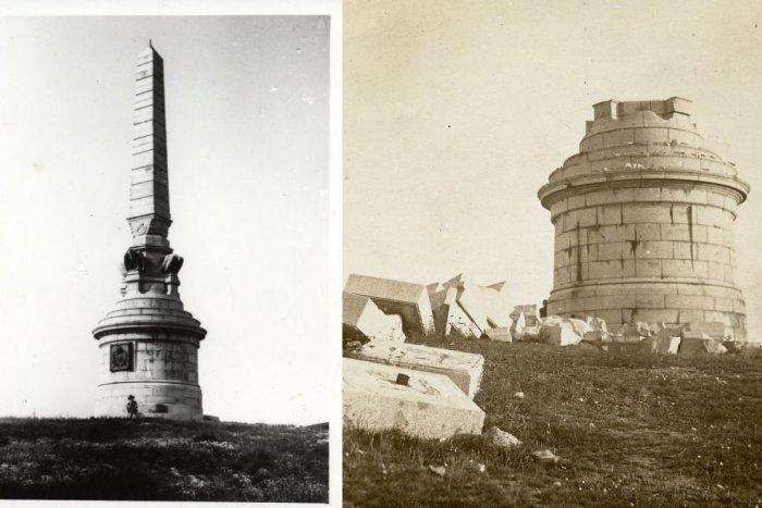 Ilustračný obrázok k článku Pred 100 rokmi sa nad Nitrou ozval výbuch: Do povetria vyhodili pamätník na Pyramíde
