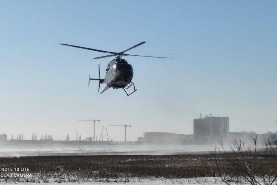 Ilustračný obrázok k článku Po Ivanovi akoby sa zľahla zem: Do akcie nasadili vojenský vrtuľník, FOTO