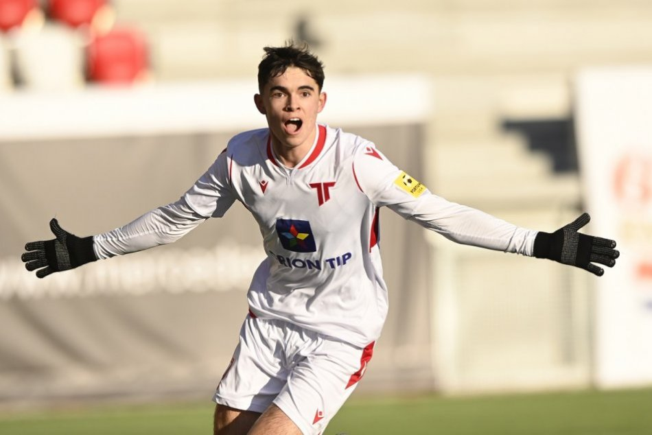 Ilustračný obrázok k článku TAKTO sa raduje Lucas Demitra z prvého gólu! Poslal ho do neba otcovi a dedovi, VIDEO