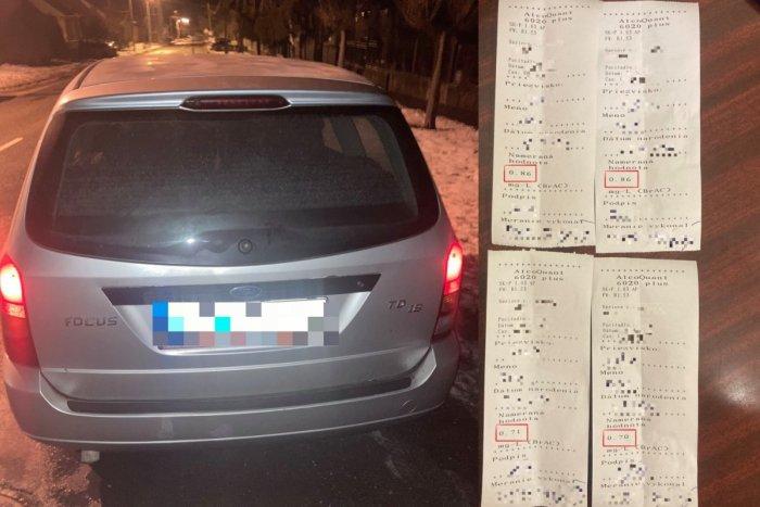 Ilustračný obrázok k článku Policajti sa nestačili čudovať: Mladý vodič nafúkal, o chvíľu chytili aj jeho kamaráta