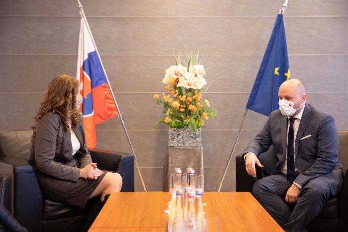 Ilustračný obrázok k článku Minister Naď sa stretol s primátorkou Turčanovou: Vyhlásil, že Prešov si obľúbil